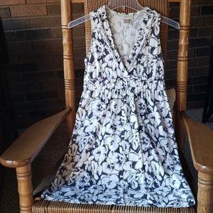 Loft floral dress, size XXSP